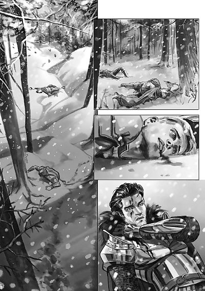Lost In The Snow - part 7