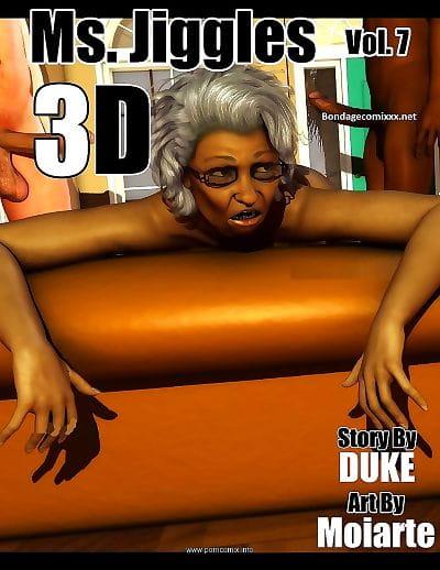 Ms Jiggles 3D – Vol 7- Duke Honey